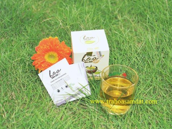 Hướng dẫn sử dụng trà hoa sâm đất zn