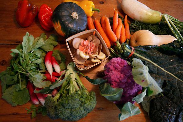 giảm cân với rau xanh